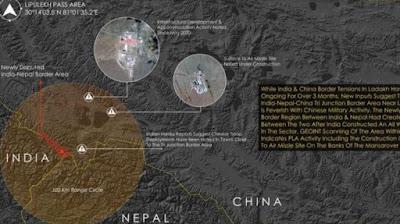 Foto: China instala misiles antiaéreos cerca de frontera india