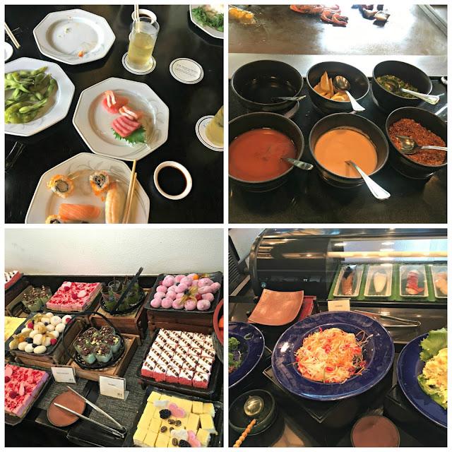 kogetsu, japanese buffet, saujana hotel