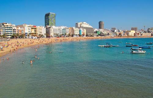 Praia em Las Palmas de Gran Canaria