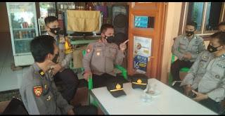 Kapolsek Bajeng Gowa, Cofee Morning Sekaligus Anev Bersama Anggota