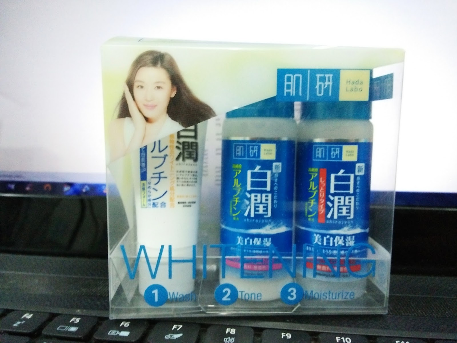 TRIAL SET HADA LABO WHITENING