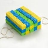 Sponge Ball Square Arms - Step 1