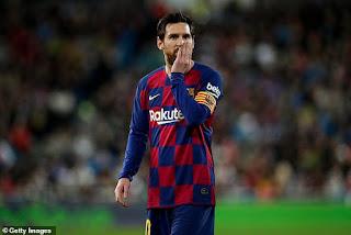 Man City muốn ký hợp đồng 2 năm với Messi