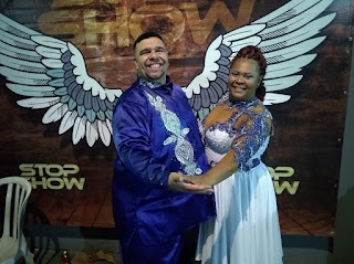 Raphael Khaleb e Verônica Moura