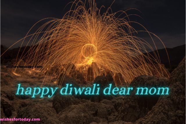 Happy Diwali Dear Mom Images