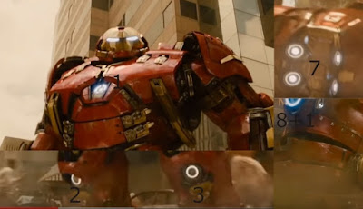 Fact- 9 arc reactors in hulk buster