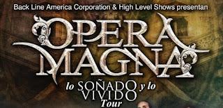 Concierto de OPERA MAGNA en Bogotá