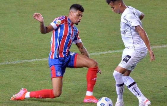 Bahia estreia no Brasileiro aplicando 3 a 0 no Santos