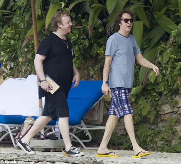 Paul Mccartney And Nancy Shevell Jamaica Vacation