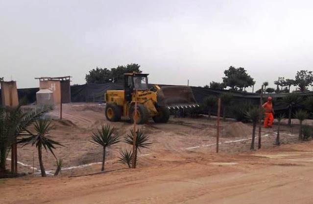 Casas de Playa - Trazo Nivel y Replanteo