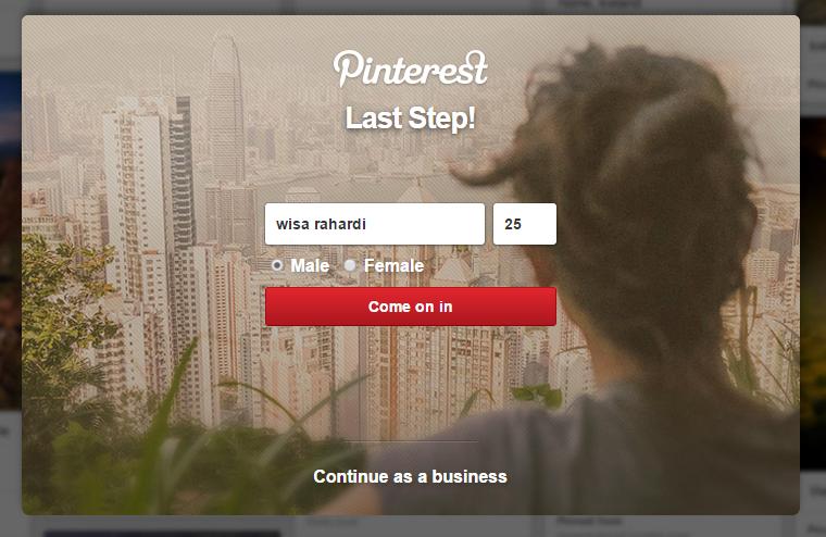 Pinterest di Indonesia memang tidak sebooming Facebook atau Twitter Apa Itu Pinterest dan Bagaimana Membuatnya?