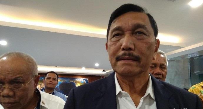 2 Langkah Luhut Usai Ditugaskan Jokowi Tangani Corona di 8 Provinsi