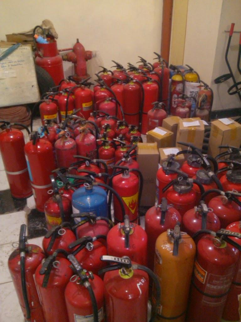 tabung pemasam cf-21, pemadam kebakaran