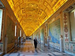museus vaticanos antes abertura tetos - Vaticano