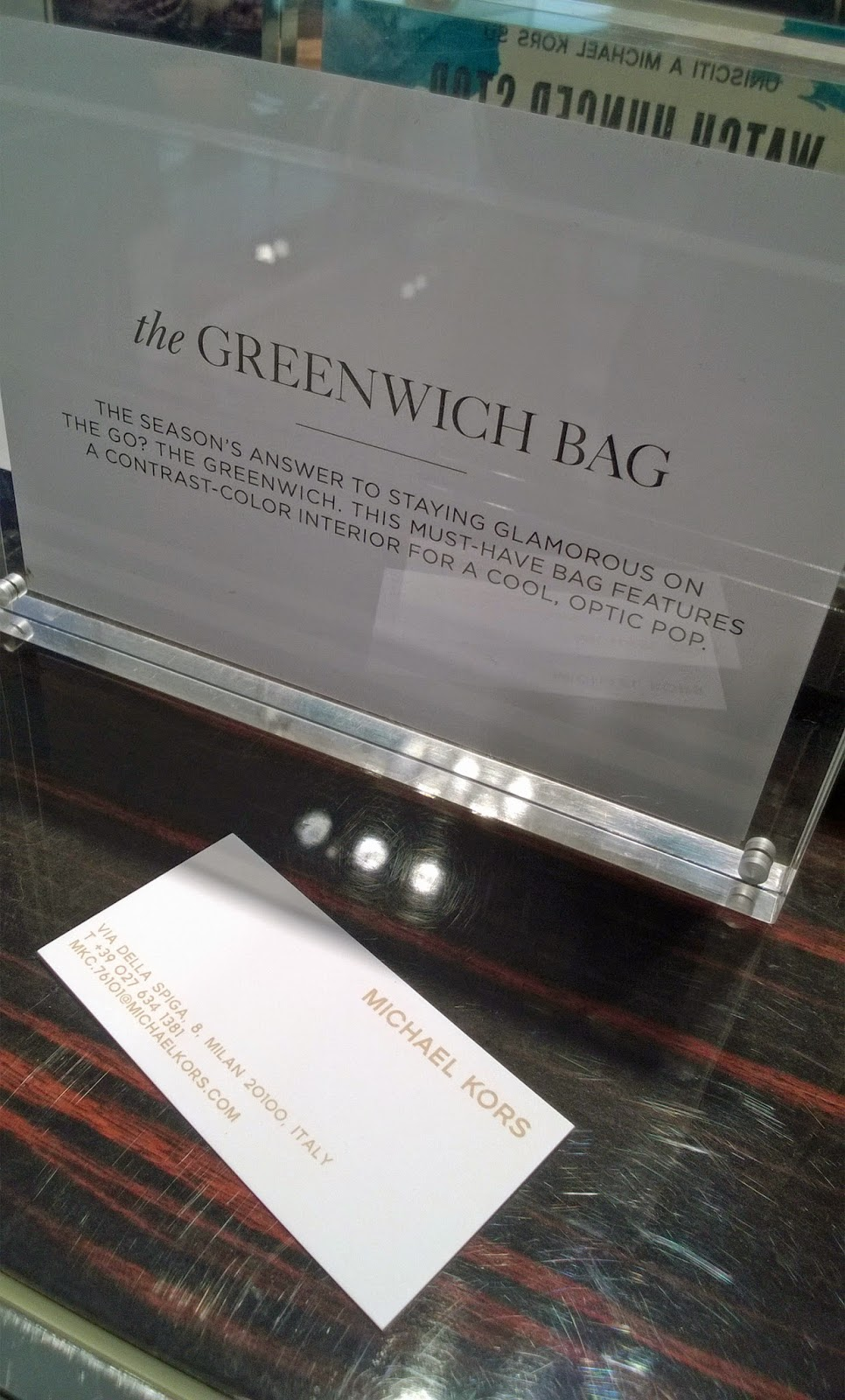 Eniwhere Fashion - Greenwich - Michael Kors - Bag - Must have