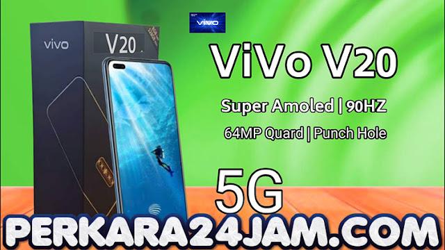 Smartphone Vivo V20 Jadi Smartphone 5G Dengan Kamera Sefie 44MP