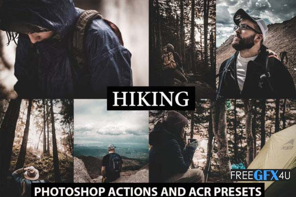 Photoshop Actions + Acr Presets Premium