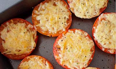 Tomato Bakar Berkeju