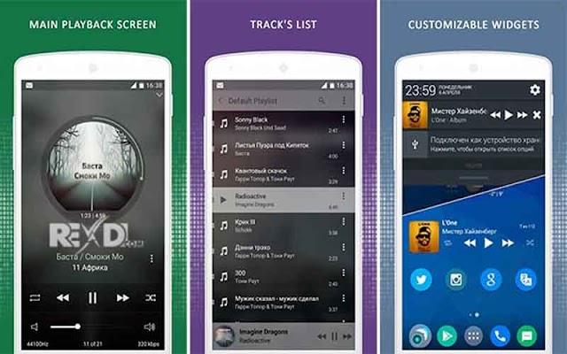 Stellio Music Player 5.5.2 Apk Unlocker - Trình nghe nhạc Android