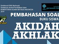 Pembahasan Soal Akidah Akhlak Semester Genap Kelas VII Bab VI ASMAUL HUSNA KMA 183 Tahun 2019