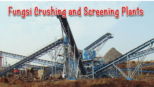 Fungsi Crushing and Screening Plants (stationary)