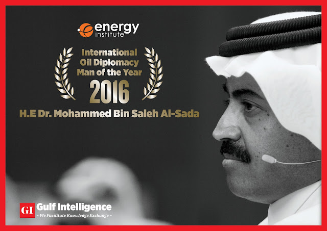 "UK's Energy Institute Recognizes Qatar's Minister of Energy as ""International Oil Diplomacy Man of the Year 2016"""
