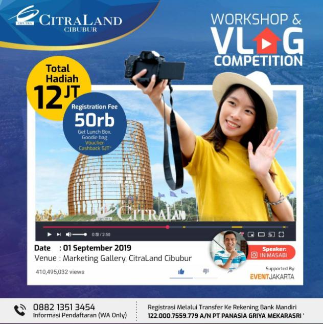 Workshop & Vlog Competition 2019 di PT Panasia Griya Mekarasri