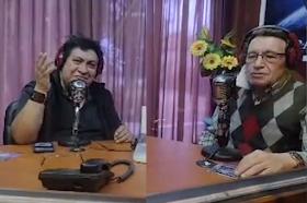 Ovidio Girón y Otto Soberanis en Radio Panamericana
