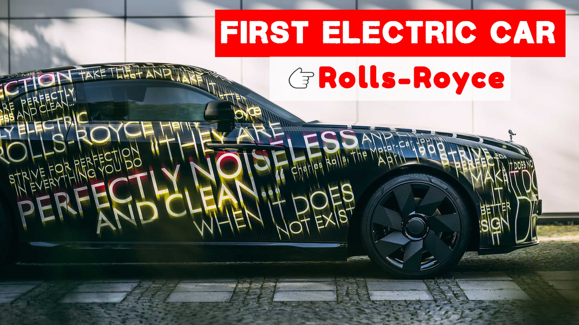 The electric Rolls-Royce Specter belongs to the luxury coupe class