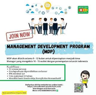 Management Development Program di Apotek K24