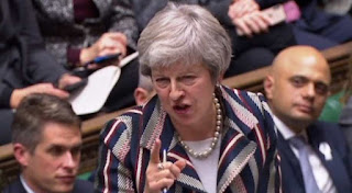 May is due to update parliament on her progress towards a deal on Wednesday and then on Thursday to give parliament a chance to express their opinion.