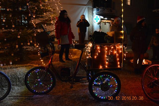 Η Ποδηλατική Από-δραση στο Χριστουγεννιάτικο Χωριό του Κόσμου. (ΦΩΤΟ-ΒΙΝΤΕΟ)