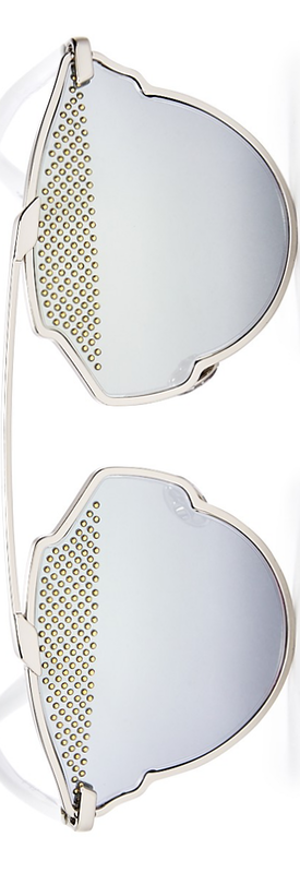 Dior Studded So Real Round Sunglasses, 48mm