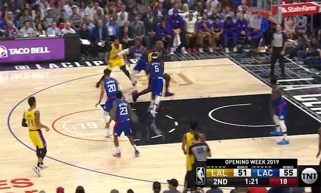 New NBA Shot Clock