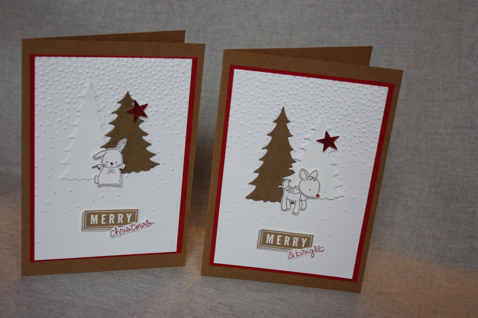 polly kreativ schnell noch ein paar weihnachtskarten. Black Bedroom Furniture Sets. Home Design Ideas