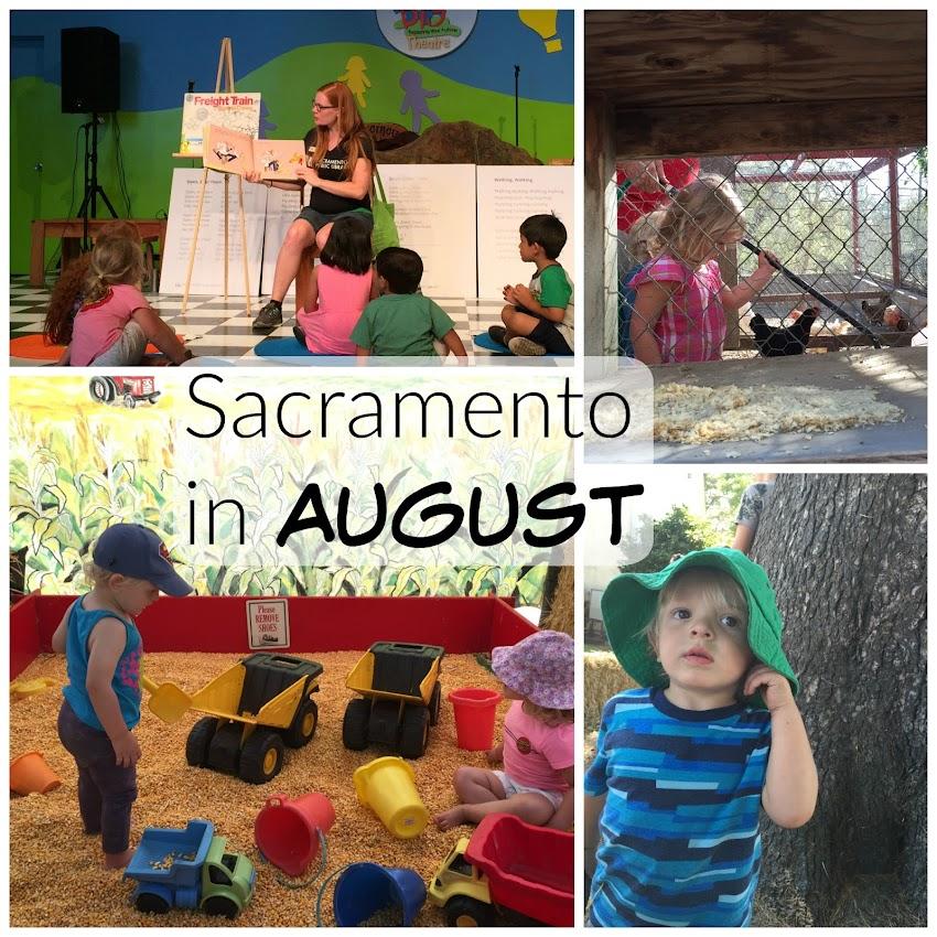 August in Sacramento