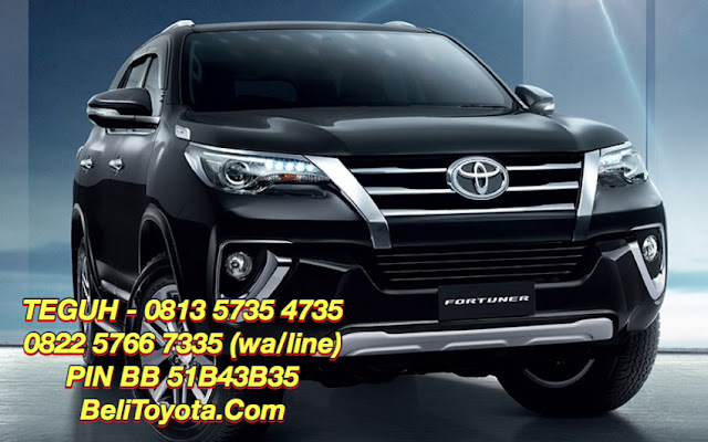 Info Test Drive Toyota All New Fortuner