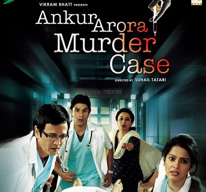 Poster Of Hindi Movie Ankur Arora Murder Case 2013 Full HD Movie Free Download 720P Watch Online