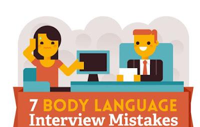 7 ภาษากายที่พึงระวังระหว่างสัมภาษณ์งาน