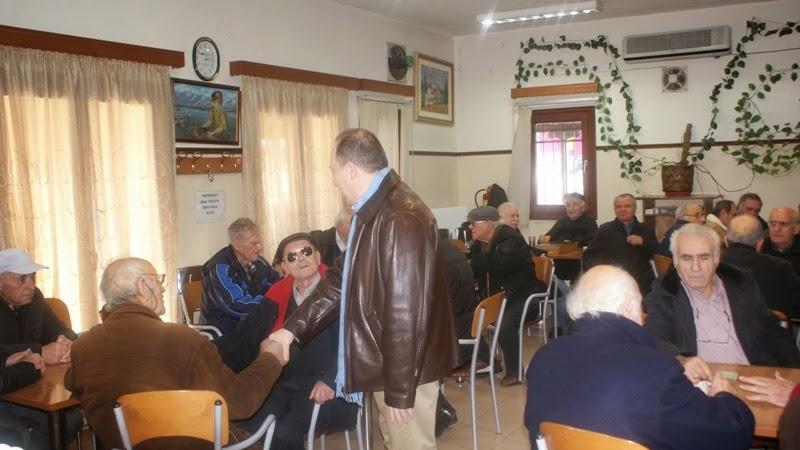 Αντάλλαξε Ευχές σε Γηροκομείο και ΚΑΠΗ  ο Αντιπεριφερειάρχης Καστοριάς Σωτήρης Αδαμόπουλος