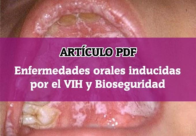 PDF: Enfermedades orales inducidas por el VIH y Bioseguridad