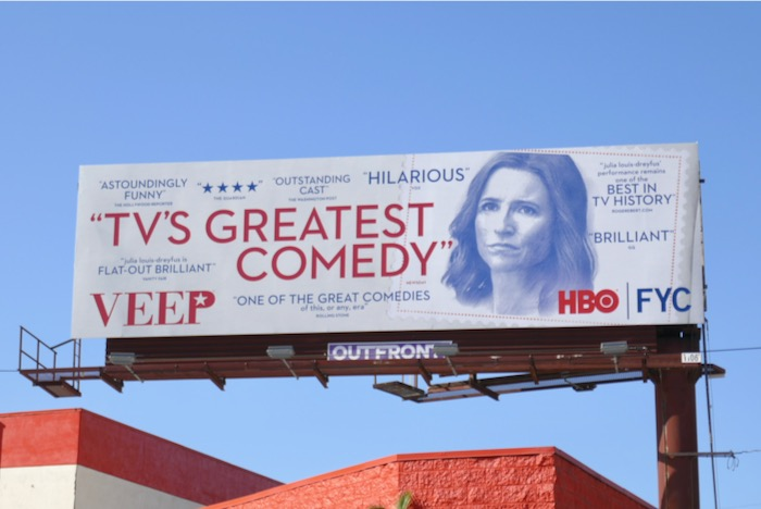 Veep final season winter FYC billboard