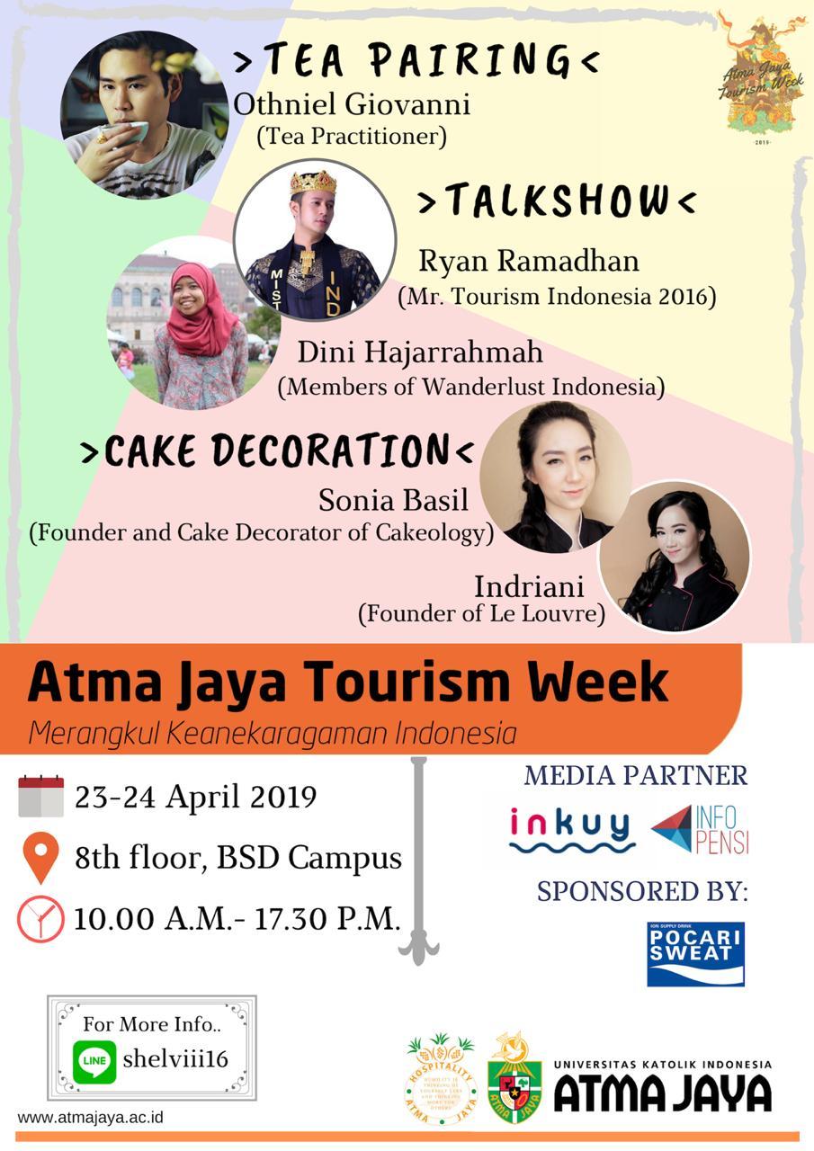 Atma Jaya Tourism Week