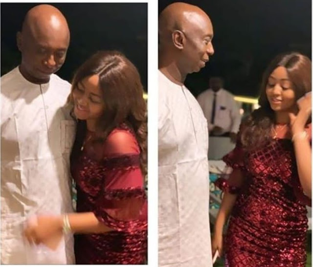 Latest photos of Regina Daniels with husband