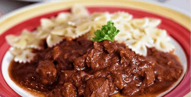وصفة اليخنة الهنغارية / Hungarian Goulash Recipe