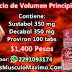 Ciclo de Volumen Principiante - Precio ( $1,400 pesos ) Dragon Pharma