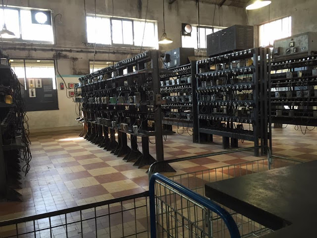 サンテティエンヌ 炭鉱博物館 ランプ管理