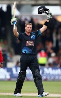 Martin Guptill 103* - England vs New Zealand 1st ODI 2013 Highlights
