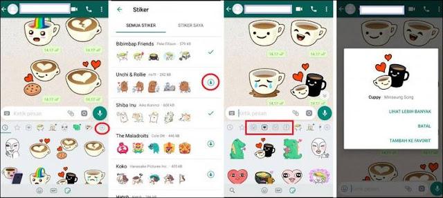 Sticker WA Tidak Muncul WhatsApp Stiker