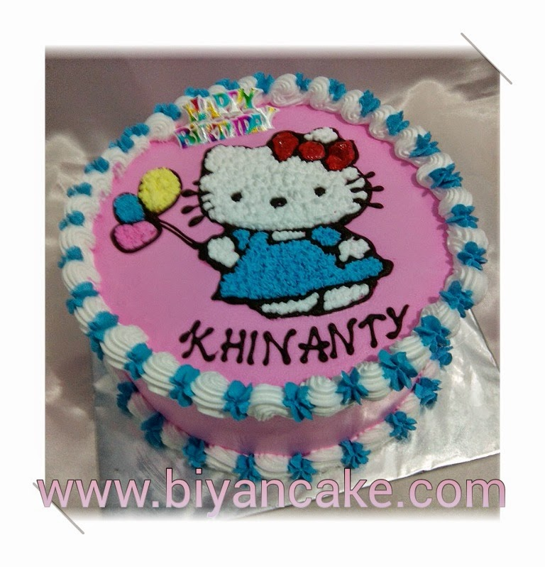 Biyancakes Toko Kue Bekasi Kue Tart Hello Kitty Khinanty
